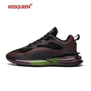 自由绽放KISSQUEEN四季款男跑步鞋休闲运动鞋6613