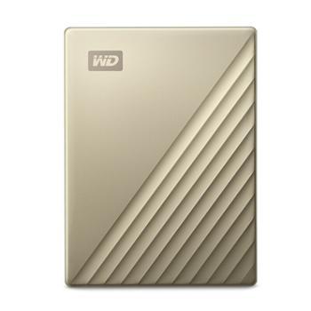 西部数据/WD PC台式笔记本Mac计算机电脑移动硬盘 My Passport Ultra Type-C密保自动备份NTFS