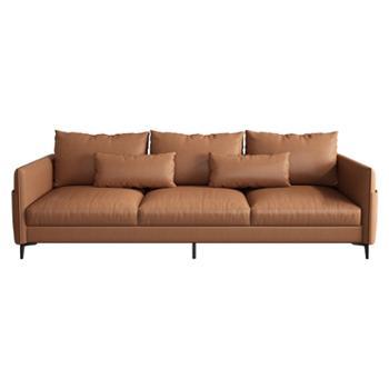 科莱斯克双三四人位小户型客厅简约科技布沙发