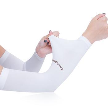 浪莎冰袖夏季冰丝防晒袖套拇指款2对