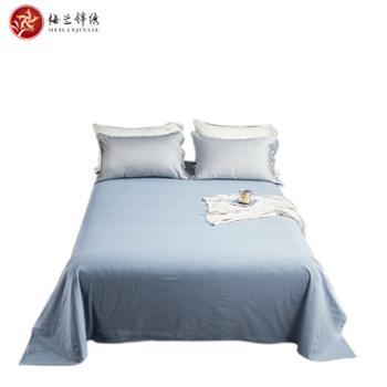 梅兰锦绣40支全棉纯色床单KZ-全棉床单