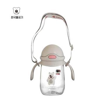 杯具熊狐狸鳄鱼塑料学饮杯300ML--hley