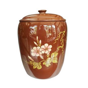 火宝牌建水紫陶九饼茶罐