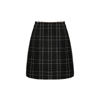ELSYALN欧洲站新款包臀裙名媛职业半身裙套装