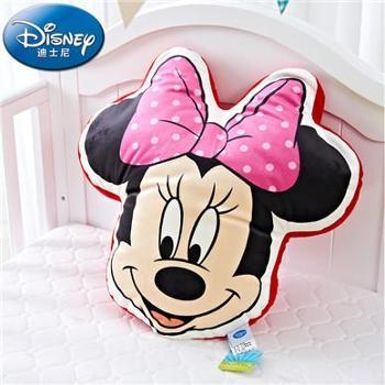 Disney/迪士尼四季卡通造型靠垫动漫立体汽车沙发靠垫大头米妮