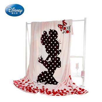 Disney/迪士尼云貂绒双层加厚毯200*230