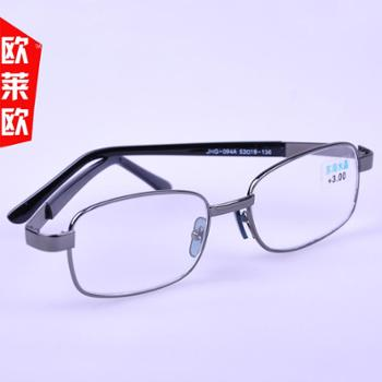 oulaiou/欧莱欧老花镜新款老花眼镜玻璃光学眼镜094大框909老人镜