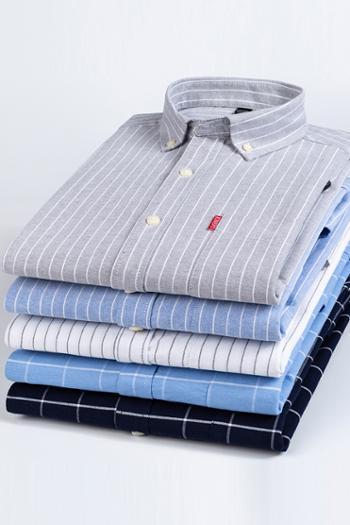 俞兆林纯棉男士条纹长袖衬衫纯棉条纹长袖衬衫YZL10