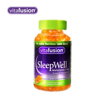 Vitafusion 褪黑素软糖 60粒