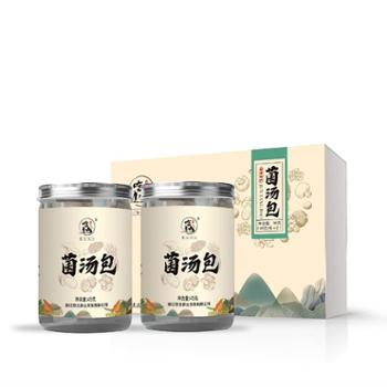 吃山深山野生菌汤包45g*2瓶