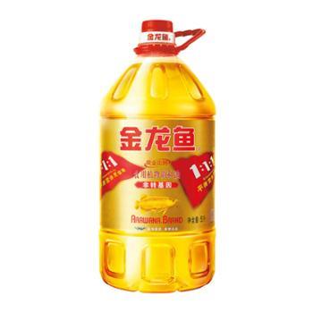 金龙鱼 黄金比例调和油 大桶 5L