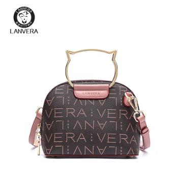 LANVERA/朗薇女士单肩贝壳包手提斜挎包L8831