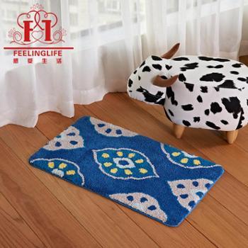 感受生活家居进门卧室客厅厨房浴室吸水防滑地垫脚垫地毯工厂