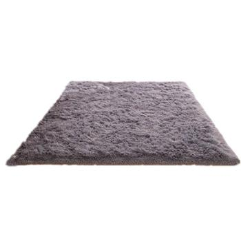 可水洗丝毛地毯客厅沙发卧室床边可爱家用满铺地垫榻榻米