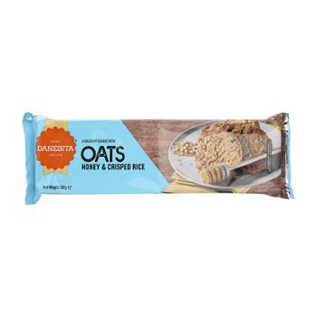 丹妮丝塔 葡萄牙进口燕麦蜂蜜脆米饼干 150g