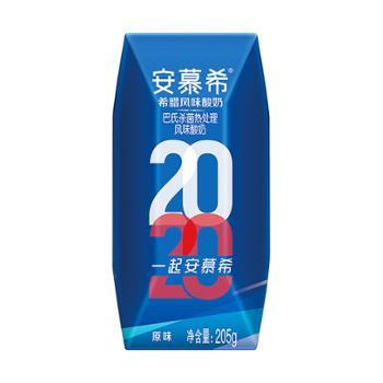 伊利 安慕希希腊风味酸奶原味 205g*12瓶