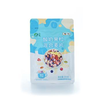 山萃 中粮出品酸奶麦片混合果粒 350g