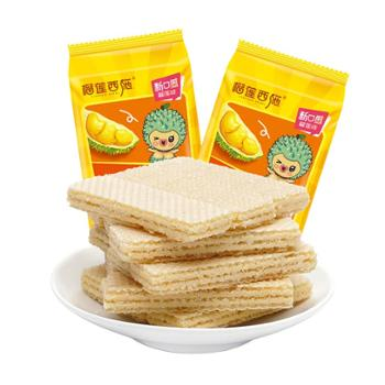 榴莲西施 榴莲味脆心威化饼干 150g*2包