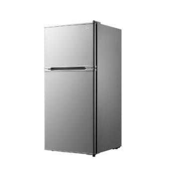 美的家用小型双门电冰箱112LBCD-112CM