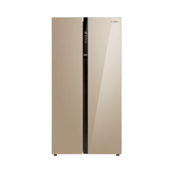 美的/Midea对开门风冷无霜家用电冰箱521LBCD-521WKM(E)