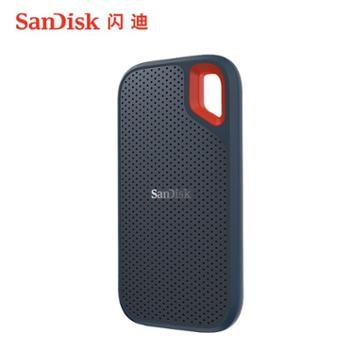 闪迪/SanDiskType-C接口手机电脑移动固态硬盘SSDE60250G500G1T2T