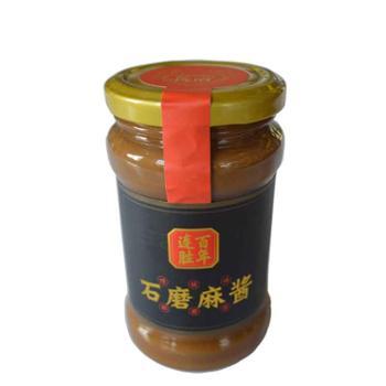 连胜小磨芝麻酱300克*3瓶