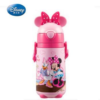 迪士尼儿童保温杯带吸管420ML