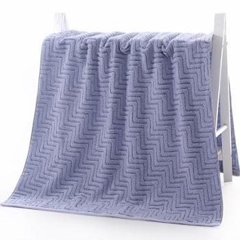 图强 柔软吸水全棉浴巾 纯棉 70*135cm 1条装