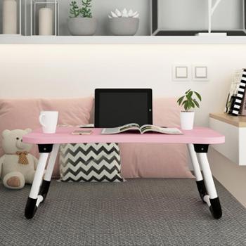 床上小桌子家用可折叠懒人学生宿舍卧室学习做桌简约笔记本良木电脑桌