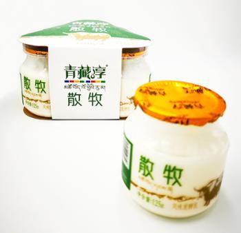 青藏淳高原牧歌散牧厚酸奶125克X15瓶