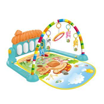 婴侍卫蘑菇音乐琴宝宝脚踏琴HE0639