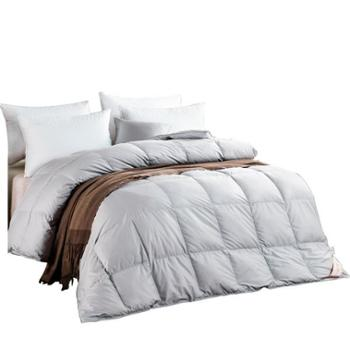 芳恩家纺FN-B479全棉白鹅绒被羽绒被白鹅绒被冬被加厚全棉被面保暖被子单双人秋冬