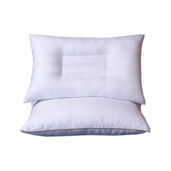 蕊丝坊/RIOUS 压花艾草绒定型枕48*74cm一对装 磨毛面料,配比艾草绒包(10:1)。