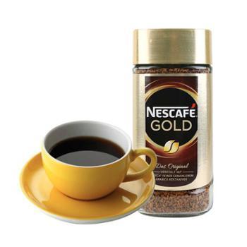 雀巢Nestle瑞士进口gold速溶咖啡粉(罐装)200克